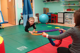 occupational therapy in action at bergen pediatric therapy